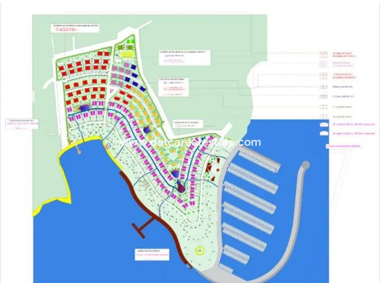 Milas Kıyıkışlacık Mevkisinde Denize Sıfır 60000M2 Turizm Ve Konut İmarlı Büyük Projelere Uygun Satılık Arsa