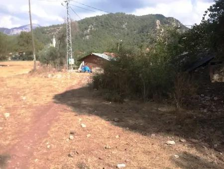 Marmaris Turgut Köyünde Yatırım İçin Uygun Satılık Tarla